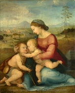 The Madonna and Child with Saint John painting reproduction, Fra Bartolommeo