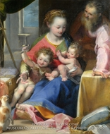 The Madonna of the Cat (La Madonna del Gatto) by Federico Barocci