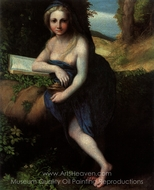 The Magdalene painting reproduction, Correggio
