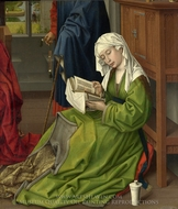 The Magdalene Reading painting reproduction, Rogier Van Der Weyden
