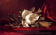 The Magnolia Blossom painting reproduction, Martin Johnson Heade