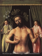 The Man of Sorrows painting reproduction, Petrus Christus