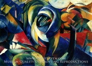 The Mandrill by Franz Marc