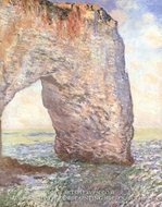 The Manneporte, Etretat by Claude Monet