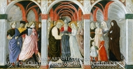 The Marriage of the Virgin painting reproduction, Giovanni di Pietro