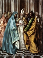 The Marriage of the Virgin by El Greco