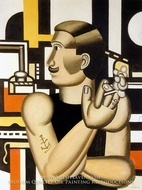 The Mechanic by Fernand Leger