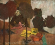 The Milliners painting reproduction, Edgar Degas