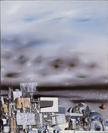 The Mirage of Time by Yves Tanguy