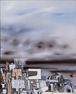 The Mirage of Time painting reproduction, Yves Tanguy