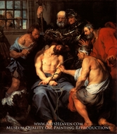 The Mocking of Christ by Sir Anthony Van Dyck