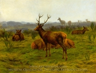 The Monarch of the Herd painting reproduction, Rosa Bonheur