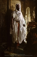 The Moorish Chief painting reproduction, Eduard Charlemont