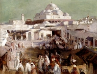 The Mosque In Tunis painting reproduction, Elizabeth Nourse
