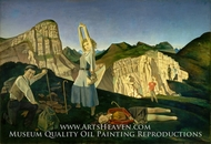 The Mountain by Balthus