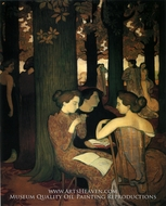 The Muse by Maurice Denis
