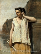 The Muse: History by Jean-Baptiste Camille Corot