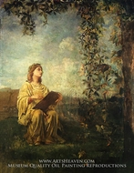 The Muse of Painting by John La Farge
