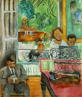 The Music Lesson painting reproduction, Henri Matisse