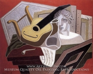 The Musician's Table by Juan Gris
