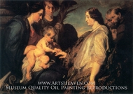The Mystic Marriage of St. Catherine by Sir Anthony Van Dyck