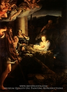 The Nativity by Correggio