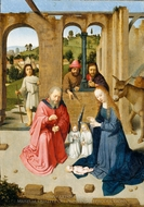 The Nativity painting reproduction, Gerard David