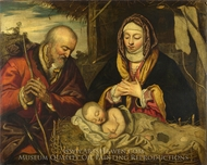 The Nativity painting reproduction, Jacopo Tintoretto