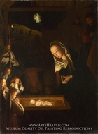 The Nativity at Night painting reproduction, Geertgen Sint Jans