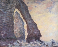 The Needle Seen Through the Porte d'Aval by Claude Monet