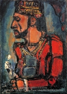The Old King painting reproduction, Georges Rouault