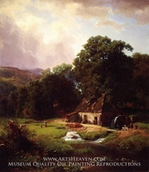 The Old Mill by Albert Bierstadt