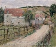 The Old Mill (Vieux Moulin) by Theodore Robinson