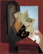 The Painter's Window painting reproduction, Juan Gris
