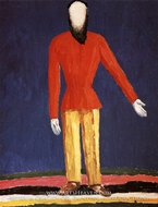 The Peasant by Kasimir Malevich