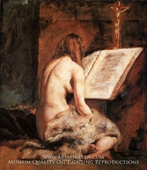 The Penitent Magdalen by William Etty