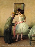 The Pink Sash by Louis Kronberg