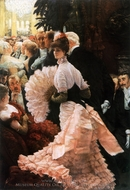 The Political Lady painting reproduction, James Tissot