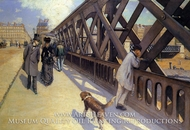 The Pont de Europe by Gustave Caillebotte