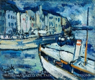 The Port of Le Havre by Maurice De Vlaminck