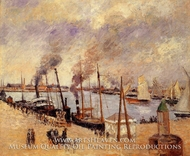The Port of Le Havre by Camille Pissarro