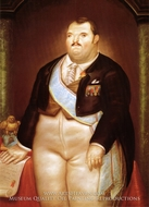 The President by Fernando Botero