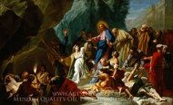 The Raising of Lazarus painting reproduction, Jean Jouvenet