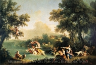 The Rape of Europa painting reproduction, Francesco Zuccarelli