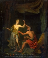 The Rape of Tamar by Amnon painting reproduction, Philip Van Santvoort