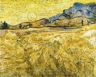 The Reaper painting reproduction, Vincent Van Gogh