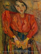 The Red Blouse by Chaim Soutine