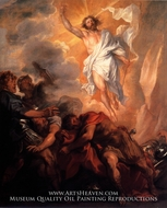 The Resurrection of Christ by Sir Anthony Van Dyck
