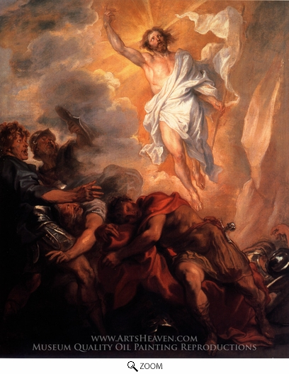 Painting Reproduction of The Resurrection of Christ, Sir Anthony Van Dyck