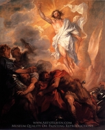 The Resurrection of Christ painting reproduction, Sir Anthony Van Dyck